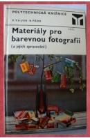 Materiály pro barevnou fotografii (a jejich zpracování) - TAUSK/ PÁDR