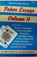 Poker Essays, Volume II - MALMUTH Mason