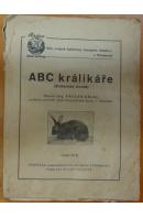 ABC králikáře (Králikářský slovník) - KÁLAL Václav