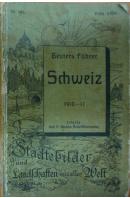 Schweiz. 1910 - 11 - FÜHRER Geuters