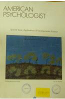 American Psychologist. Special Issue: Aplications of Developmental Science - ...autoři různí/ bez autora