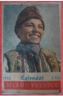Kalendář Mladé vesnice 1955 - ...autoři různí/ bez autora