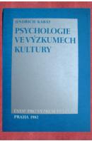 Psychologie ve výzkumech kultury - KABÁT Jindřich