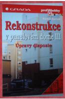 Rekonstrukce v panelovém domě III. Úpravy dispozic - BARTÁK Kamil