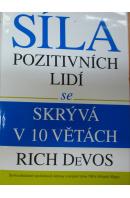 Síla pozitivní lidí se skrývá v 10 větách - DeVOS Rich