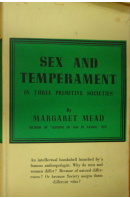 Sex and Temperament in Three Primitive Societies - MEAD Margaret