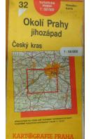 Okolí Prahy jihozápad. Český kras 1 : 50 000 - ... autoři různí/ bez autora