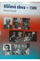 Klíčová slova - 1989 - KOVÁŘ Pavel