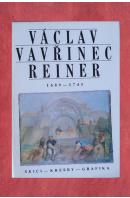 Václav Vavřínec Reiner (1689 - 1743) skici - kresby - grafika- Národní galerie Praha 1991 - PREISS Pavel
