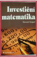 Investiční matematika - STEIGAUF Slavomír