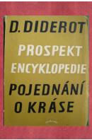 Prospekt encyklopedie/ Pojednání o kráse - DIDEROT Denis