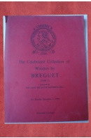 Catalogue of the celebrated collection of watches by Breguet - ...autoři různí/ bez autora