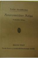Toldt. Anatomischer Atlas II. Neunzehnte Auflage - HOCHSTETTER Ferdinand