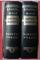 B. Kočího Malý slovník naučný. Kapesní vydání I., II. - KOČÍ B.