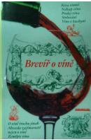 Brevíř o víně - HAUFT Jindřich
