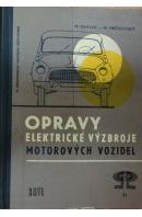 Opravy elektrické výzbroje motorových vozidel - PAVLÁK M./ VRCHOVSKÝ M.
