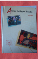 Abnormal Psychology and Modern Life - CARSON R. C./ BUTCHER J. N./ COLEMAN J. C.