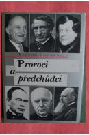 Proroci a předchůdci - CONZEMIUS Victor